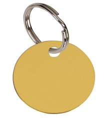 32mm Round Pet Tag in Four Colours