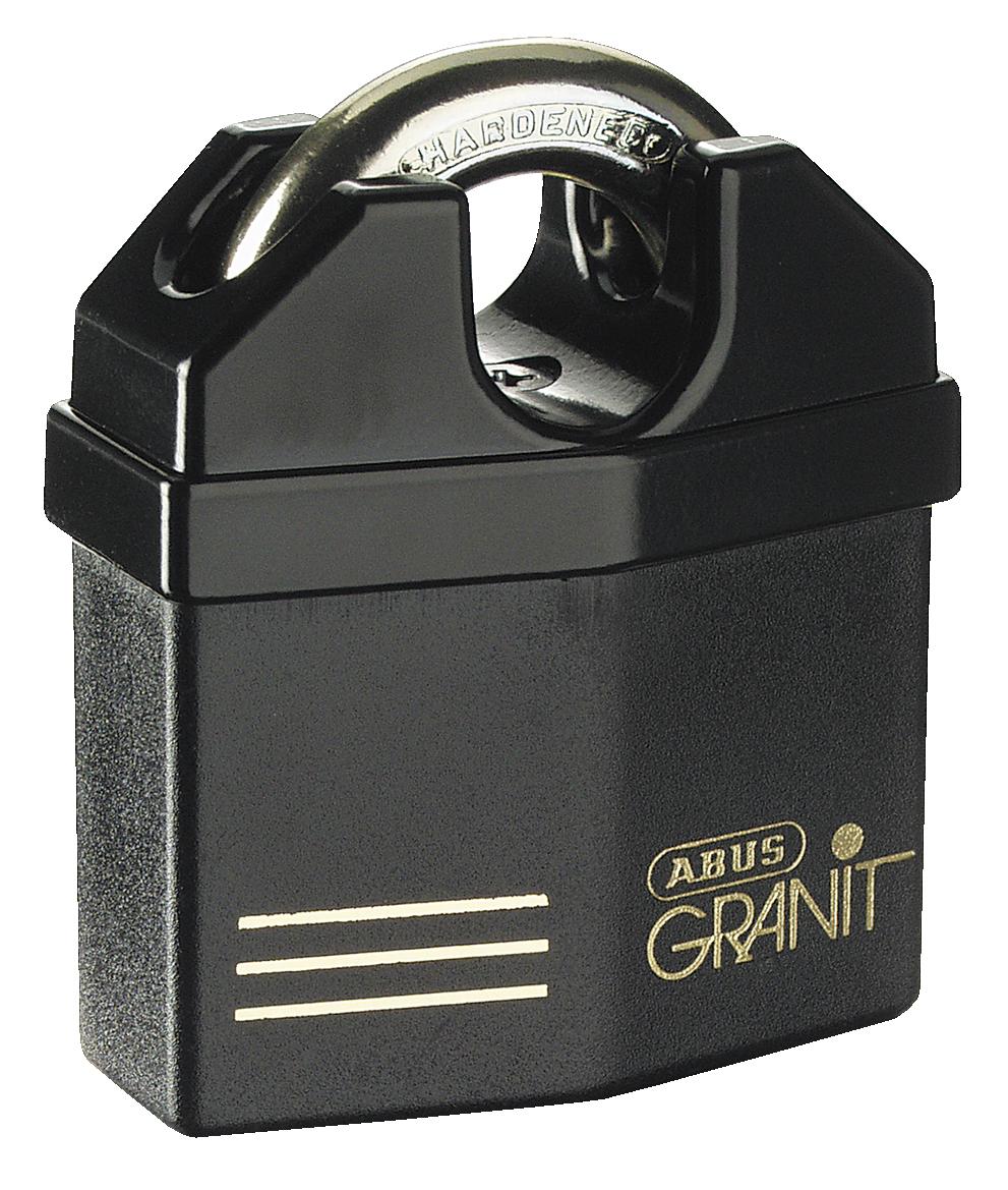 abus granit 37 60 padlock plus key system. Black Bedroom Furniture Sets. Home Design Ideas