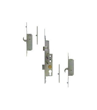 Avocet Latch Deadbolt 2 Hooks 4 Rollers 35mm Backset