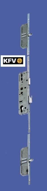 Kfv Latch Deadbolt 2 Pins Key Wind Operated In Three Sizes